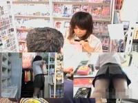 【隠し撮り】ブルセラショップにパンツを売りに来た女子校生。