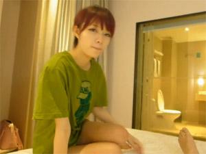 香港から日本に旅行で来たカップルのハメ撮り映像流出♪彼女が激カワで激エロ!!!!!