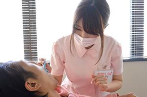 AV男優も太鼓判☆☆Hカップ歯科衛生士がAV新人☆☆