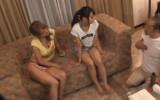 【盗撮】2人の日焼け美女が媚薬マッサージでアヘアヘにされちゃう映像がエロ過ぎる!!