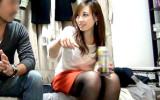 【盗撮】宅飲み。泥酔 → 脱衣ゲームでSEXに持ち込まれる美人OL